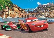 XXL Poster Fototapete Disney Cars 2 McQueen &