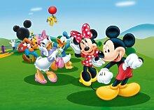 XXL Poster Fototapete Disney Mickey Mouse Donald