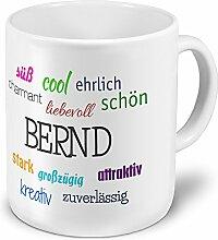 XXL Riesen-Tasse mit Namen Bernd - Positive