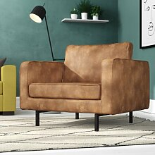 XXL-Sessel Be Pure BePureHome Farbe: Cognac