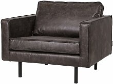 XXL-Sessel Be Pure BePureHome Farbe: Schwarz