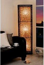XXL Stehlampe Stehleuchte Lampe Raumteiler, Rattan