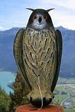 XXL UHU mit Flügeln für Ihren Garten als