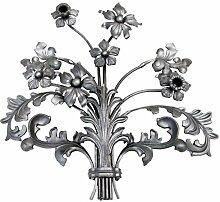 XXL Vintage Zaun- Gartendeko 590 x 560 mm Blume