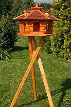 XXL Vogelhaus Vogelhäuschen mit Ständer,