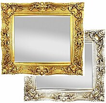XXL Wandspiegel Antik / Barock Spiegel Gold 75x85