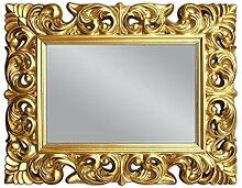 XXL Wandspiegel ANTIK ROKOKO 120 x 90 cm Barock in Gold Florenza UVP 899€ Spiegel