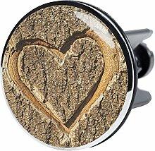 XXL Waschbeckenstöpsel True Love, deckt den kompletten Abflussbereich ab, Hochglanz Design ✶✶✶✶✶