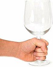 XXL Weinglas mit 750ml Fassungsvermögen -