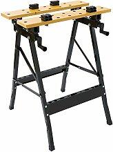 XXL Werkbank klappbar Arbeitstisch tragbar Werkstattbank Werktisch Spanntisch Ausziehbar