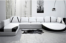 XXL Wohnlandschaft ANTONIO - Ledersofa Sofa Couch