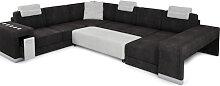 XXL Wohnlandschaft U-Form Montecielo - Sofa Couch