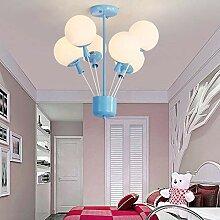XXQ LED Kronleuchter Moderne Kinderzimmer