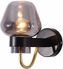 XXQ Nordische minimalistische goldene Wandlampe,