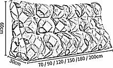XXRHMSB Queen-Size-Bett Kopfkissen Rückenlehne