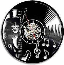 xxssg Schallplatte Wanduhr Modernes Design Musik