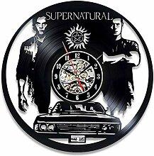 xxssg Übernatürliche Vinyl Wanduhr Modernes