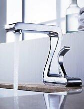 XXW Der moderne Waschtischmischer von lightinthebox - aus massivem Messing Waschbecken Wasserhahn verchrom