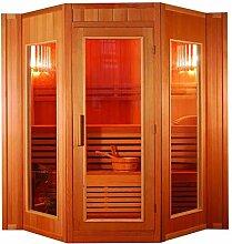 XXXL Luxus Finnische Sauna SET Sauna inkl. Harvia