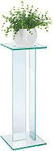 XXXLutz BLUMENSÄULE Glas , 25x71x25 cm