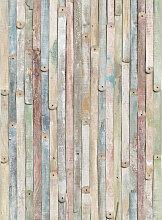 XXXLutz FOTOTAPETE, Grau, Papier, Holz, 184x254 cm