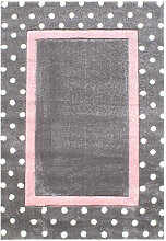 XXXLutz KINDERTEPPICH 120/180 cm Grau, Rosa,