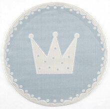 XXXLutz KINDERTEPPICH Blau , Prinzessin
