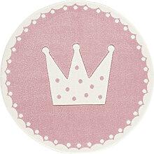 XXXLutz KINDERTEPPICH Rosa , Prinzessin