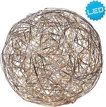 XXXLutz LED-DEKOLEUCHTE , Alu, Metall
