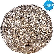 XXXLutz LED-DEKOLEUCHTE , Alufarben, Metall