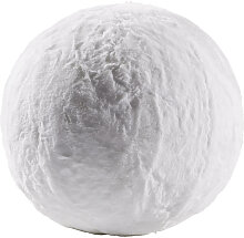XXXLutz SITZBALL Uni Weiß , Kunststoff