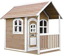 XXXLutz Spielhaus Alex , Braun, Weiß, Holz,