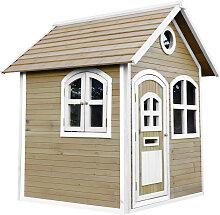 XXXLutz Spielhaus Julia , Braun, Weiß, Holz,