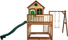 XXXLutz Spielturm Liam , Braun, Grün, Holz,