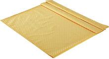 XXXLutz TISCHDECKE Textil Jacquard Gelb 135/220 cm