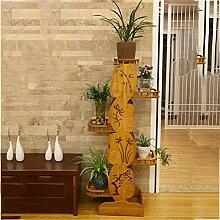 XXY.XXY Pflanze Massivholz Pflanzenständer Bambus