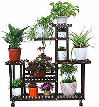 XXY.XXY Pflanzenständer aus Holz, Topf mit