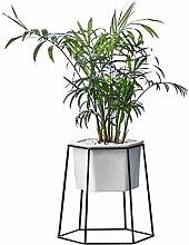 XXY.XXY Pflanzenständer Geometrische weiße