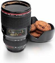 XY Fancy die zweite Generation SLR Kamera Objektiv Becher Kaffee Tasse Tee Tasse Wasser Becher schwarz