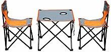 xy Hocker Folding Camping Picknicktisch Set Mit 2