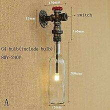 XY & XH Beleuchtung Wandleuchte,Industrielle