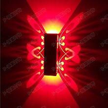 XY&XH Wandlampe, 6W Led Wandleuchte Wandlampen