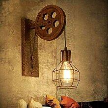 XY&XH Wandlampe, Kreative retro Loft verstellbare