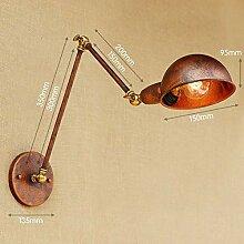 XY&XH Wandlampe, Kupfer Retro Loft Industrie