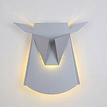 XY&XH Wandlampe, Nordic Deer Head LED Wandleuchten