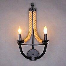 XY&XH Wandlampe, Retro loft wandlampen e14