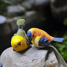 XY&YD Outdoor Garten Statuen Vögel Deko Geschenke
