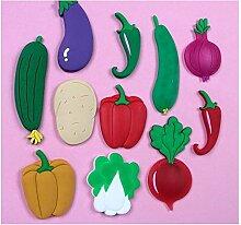 XYao Kühlschrank-Aufkleber Cartoon süße