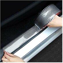 XYHCS Auto-Aufkleber 5D Carbon-Faser-Gummi-Styling