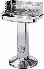 Xyl Säulengrill,Stainless Steel Portable Outdoor
